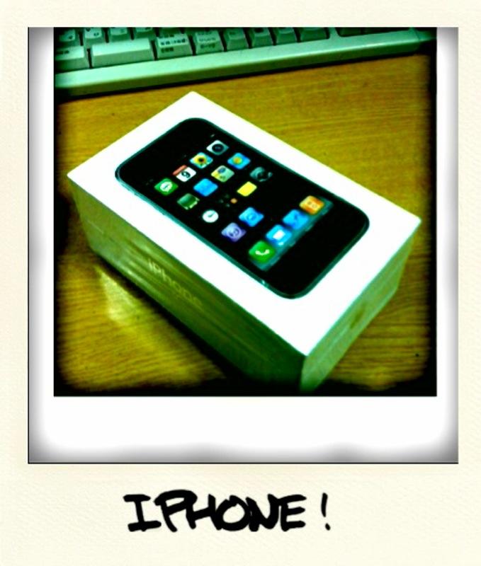 iPhone始めました
